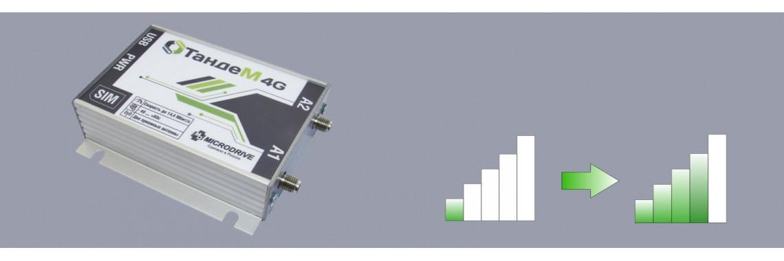 Организация качественного приема в сетях 3G/4G